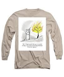 The Burning Bush Long Sleeve T Shirt