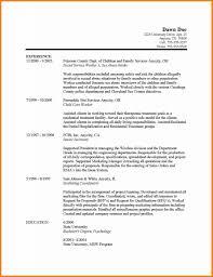 Social Work Resume Federal Social Worker Resume Writer Sample