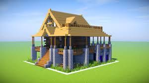 Build Underground Home Minecraft Big Survival House Tutorial Minecraft How To Build A