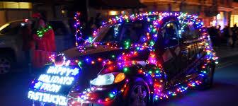 Las Cruces Light Parade Route Electric Light Parade