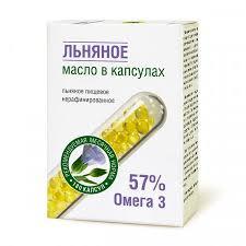 <b>Компас Здоровья</b>. <b>Масло</b> льняное в капсулах 180 х 0,3 г– купить ...