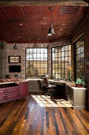 Best 25 Rustic Home Offices Ideas On Pinterest  Home Office Rustic Looking Homes