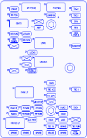 gmc sierra fuse box diagram image wiring gmc envoy 2004 interior fuse box block circuit breaker diagram on 2004 gmc sierra fuse box