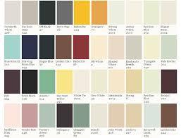 Farrow Ball Colour Card Consists Around Colours Lentine
