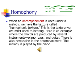 Texturerefers to the number of individual musical lines and the relationship these lines have to one another.kinds of texture: Ppt Elements Of Music Powerpoint Presentation Free Download Id 1151313
