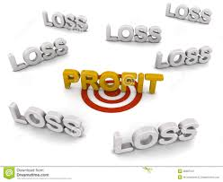 Profit Target Stock Illustration Illustration Of Business 26867247