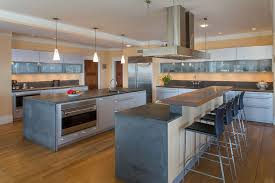 Small Picture 35 Large Kitchen Islands with Seating Pictures Designing Idea