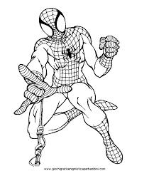 Una Raccolta Di Popolare Spiderman Immagini Da Colorare Disegni