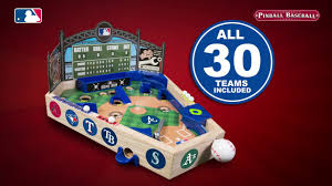 Wooden Baseball Game Toy MLB Wooden Pinball Baseball MLB100 Introduction 100 seconds 44