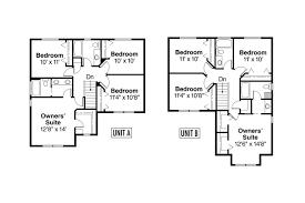 Country House Plans   Waycross     Associated DesignsDuplex Plan   Waycross     nd Floor Plan