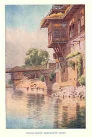 1929 indian shawl merchant s textiles india old view