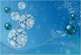 Blue Winter Holiday Background Free Vector In Adobe