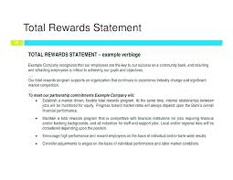 Total Compensation Package Template Total Compensation