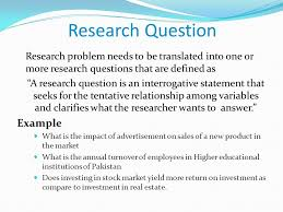 Research Problem Statement Problem Statement In Research Example Term Paper Help