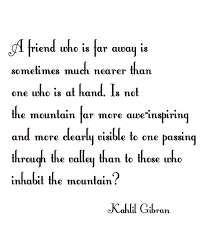 Kahlil Gibran Quotes Extraordinary Kahlil Gibran Friends Quote