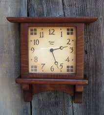 clock arts and crafts craftsman clock  on wall clock arts and crafts with highland wall clock at the present time