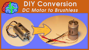 Brushed To Brushless Conversion Chart How To Diy Conversion Brushed Motor To Brushless Motor