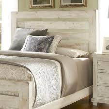 Progressive Bedroom Furniture Progressive Furniture Willow Queen Slat Headboard With Distressed