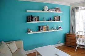 charming floating wall shelves white 15
