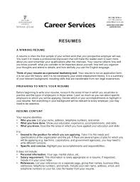 How To Write Your Resume #7210