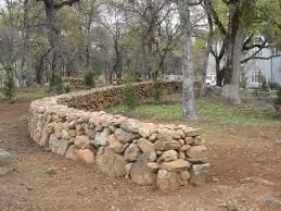 Small Picture True dry stack stone fence if only they would allow this in