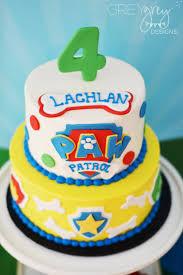 paw patrol cake 7 e