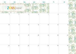 monthly calendar 2018 template elegant monthly calendar design 2018 calendar 2018
