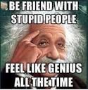stupid person
