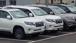 toyota prado 2018 new model. 2018 toyota landcruiser prado spotted again ahead frankfurt debut new model