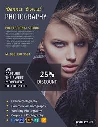 11 Free Photography Flyer Templates Word Psd Indesign