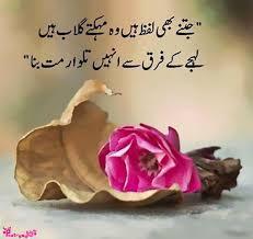 Sad Shayari Jitny Bhi Lafz Hain Wo Mahakty Gulab Hain Urdu Poetry