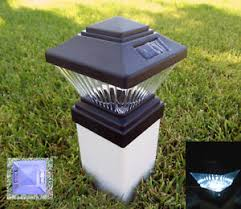 Good Image Is Loading 2 X Solar Power Path Deck Post Cap