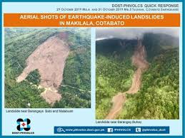 Information and facts about all earthquakes today. Cotabato Philippines Large Landslides From The Series Of Earthquakes In October 2019 The Landslide Blog Agu Blogosphere