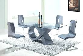 modern glass dining table set glass table and chair sets modern glass dining table set large
