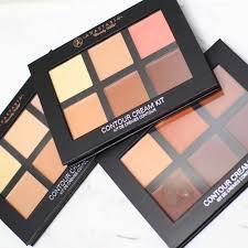 anastasia beverly hills contour cream kit palette 6 colors concealer makeup primer deep light um bronzer