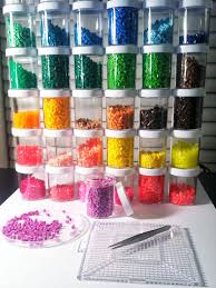 674 best images about hama beads perler bead the perfect little jars for perler bead storage about 3in high x 2in across