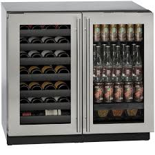 3000 series 36 beverage center wine captain glass door stainless frame