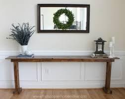 easy diy sofa table. DIY Console Table From The Happier Homemaker Easy Diy Sofa Table