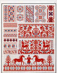 Русские народные орнаменты в вышивке
