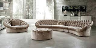 curved sectional sofa furniture small couch rounded couches circular for classy applied to your residence inspiration rounded sofa sectionals