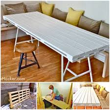VIEW IN GALLERY pallet dining-table -wonderfuldiy