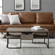 large rectangle mdf coffee table