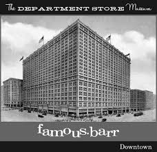 famous barr occupied the lower floors of the enormous railway exchange building in downtown st louis on september 8 1913
