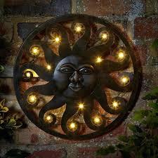 metal outdoor wall art