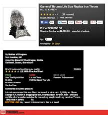 life size iron throne uhpinions funny reviews from amazon yelp etc real