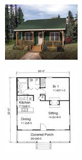Small Cabin Plan With Loft  Small Cabin House PlansHome Plans Small Houses