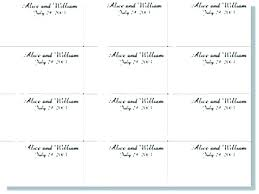 Table Labels Template Wedding Table Name Cards Template 7 Best Of Free Printable