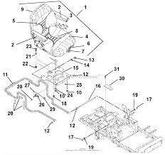 Gravely 992214 000101 pro master 260h lpg parts diagram for diagram seat and hood
