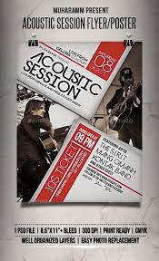 Event Flyer Interesting Acoustic Session Flyer Poster Pinterest Event Flyers Acoustic