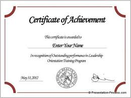Certificate Template Award Cirtificates All Form Templates